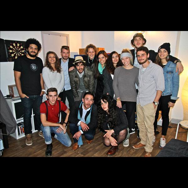 """2014 - Tournage clip vidéo pour """"Mad in Music"""". Composition : St Aubin & Nicolas Dubois"""