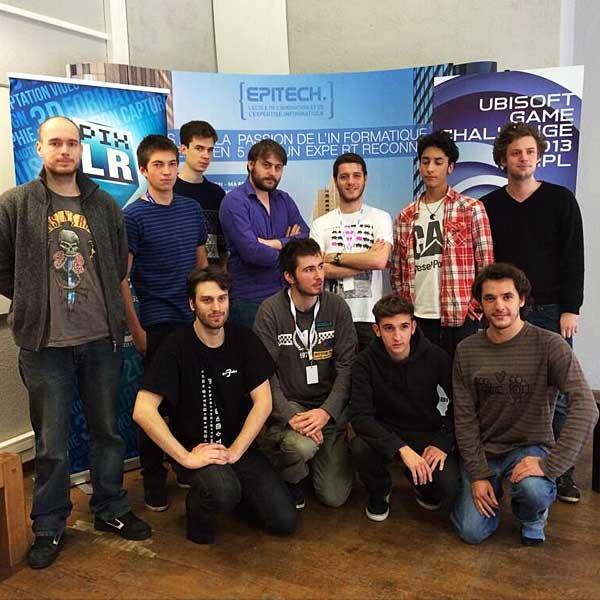 2013 - Equipe Vainqueur de l'Ubisoft Game Challenge (Sound Designer : Nicolas Dubois)
